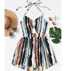 Other - Colorful romper‼️60% off‼️‼️limited time